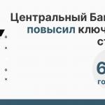 Совет директоров Центрального банка РФ принял решение повысить ключевую ставку до 6,5% годовых